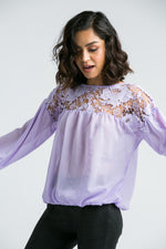 Sydney Purple Blouse