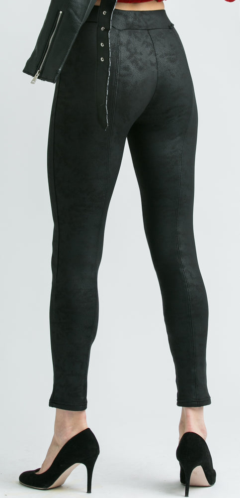 Gabby High Waist Black Leggings
