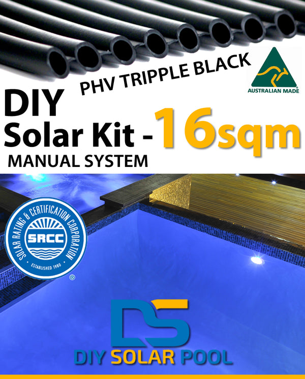 DIY Solar Pool Kit 16sqm - Manual