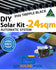 DIY Solar Pool Kit 24sqm - Automatic