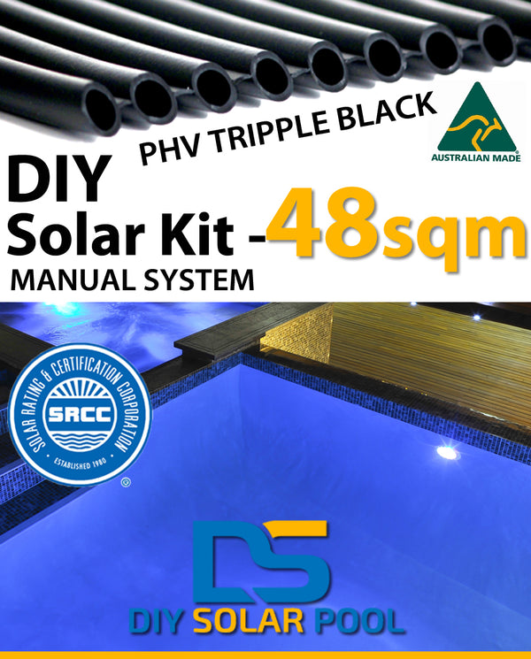 DIY Solar Pool Kit 48sqm - Manual