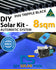 DIY Solar Pool Kit 8sqm - Automatic