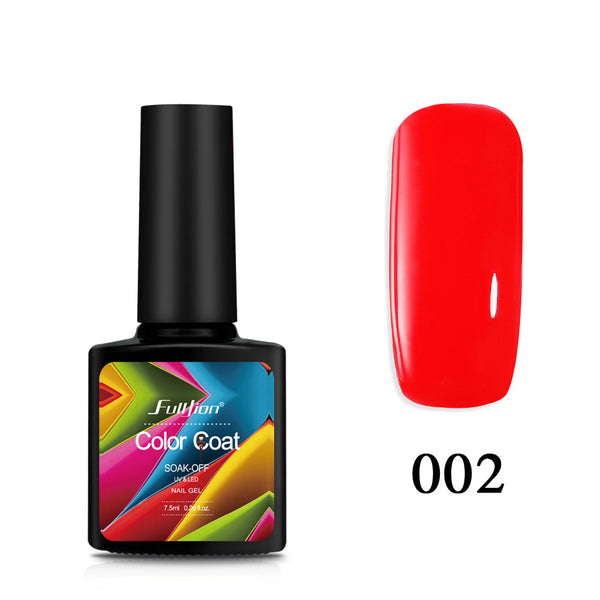 Fulljion 1Pcs Gel Nail Varnish Wine Red Series Polish Lacquer Long ...