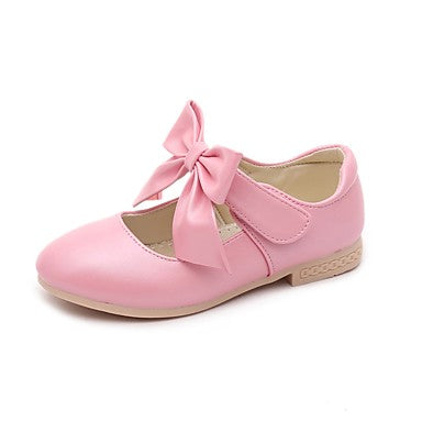 Girls shoes leatherette spring comfort flower girl shoes flats girls shoes leatherette spring comfort flower girl shoes flats bowknot magic tape for mightylinksfo
