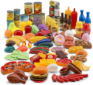 Play Food 122 Piece