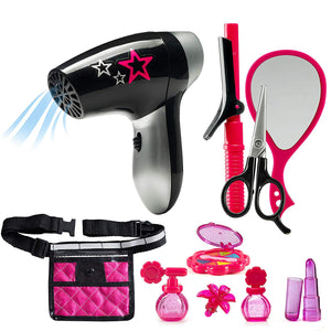 Beauty Stylist Set – Complete Play Pretend Hair Salon Station