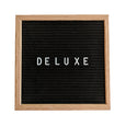 "Black Square Felt Letter Board 10"" x 10"" Bundle"