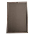 "Black Rectangle Felt Letter Board 12""x18"" Bundle"