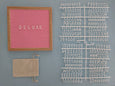 "Pink Square Felt Letter Board 10"" x 10"" Bundle"
