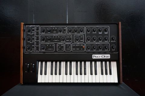 Sequential Circuits Pro-One 80's Vintage Monophonic Synthesiser Synth Dave Smith