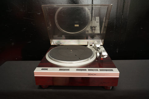 Denon DP-47F Vintage Fully Automatic Direct Drive Vinyl Turntable - 240V