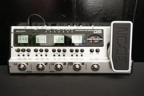 Zoom G5 Complete Guitar Pedalboard Multi-Effects & Amp Simulator Pedal