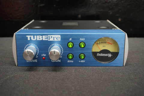 Presonus TubePRE tube Microphone & Instrument Preamplifier As New In Box