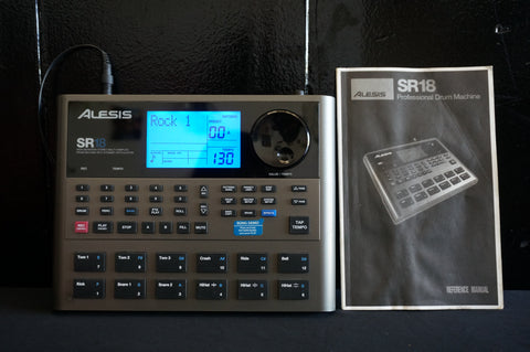 Alesis SR18 High Definition MIDI Stereo Dynamic Portable Drum Machine