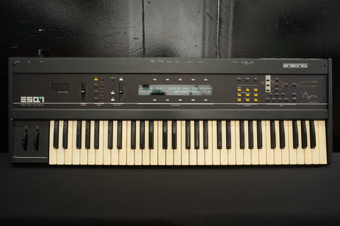 Ensoniq ESQ-1 Polyphonic Digital Wave Synthesiser W/ Analogue Filters - 240V