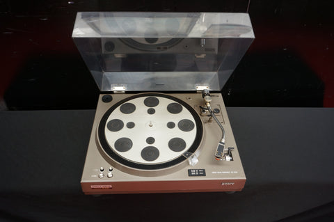 Sony Vintage 70's  Turntable PS-4750 Direct Drive Home Record Vinyl Player -100V