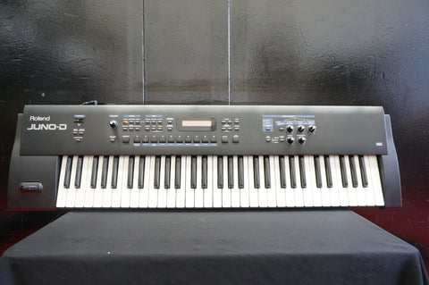 ROLAND Juno-D Digital Polyphonic Synthesiser Velocity Sensitive Keyboard