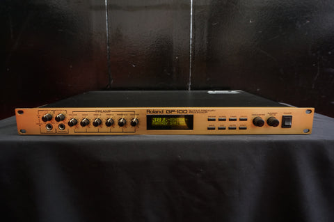 Roland GP-100 Guitar Preamp/Processor Amp Modeling, Multi-Effects & MIDI - 100V