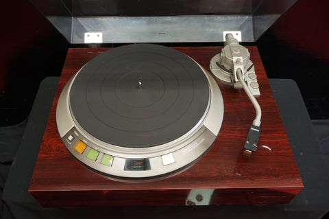 Denon DP-57M Vintage 80's Two Speed Direct Drive Quartz Locked Turntable - 100V
