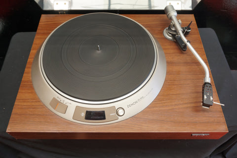 Denon DP-1600 Vintage Two Speed Manual Direct Drive Record Player - 100V