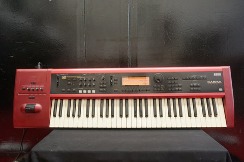 Korg Karma Music Workstation Keyboard Synthesiser W/ MIDI Effects & Sequencer