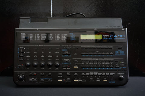 Roland RA-90 Realtime Arranger Sound Module - MIDI Backing Tracks Sound Effects