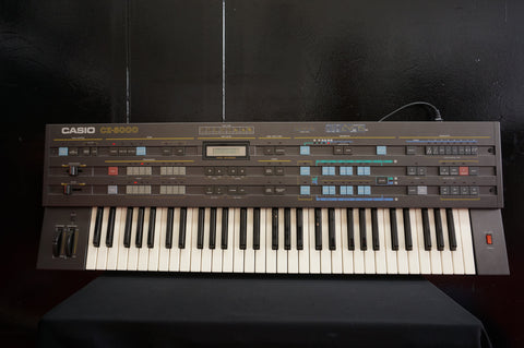 Casio CZ-5000 80's Phase Distortion Polyphonic 61 Key Digital Synthesiser - 240V