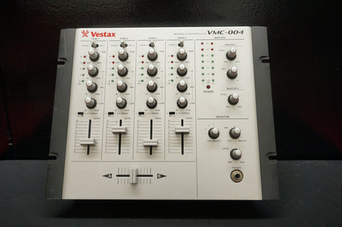 Vestax VMC-004 Four Channel DJ Mixing Controller