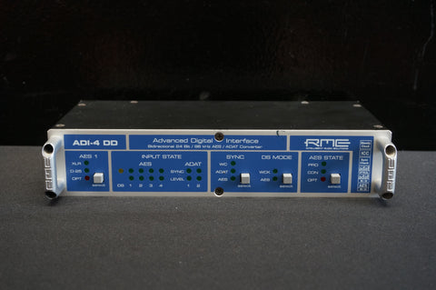 RME ADI-4 DD Advanced Digital Interface Converter Bidirectional 24 Bit ADAT