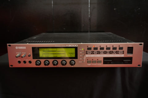 Yamaha A5000 2U Rack Mount Professional Sampler - 100V *Floppy does not work**