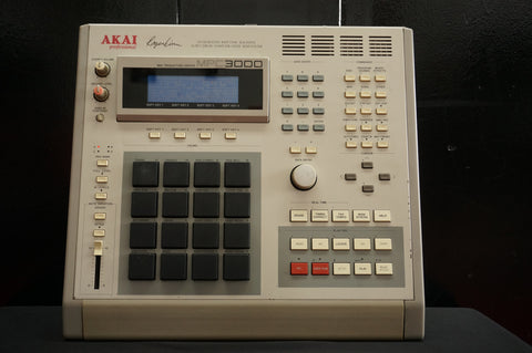 Akai MPC 3000 Integrated Rhythm Machine 16 Bit Drum Sampler MIDI Sequencer - 120V