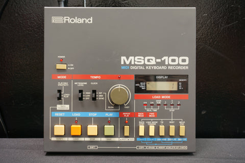 Roland MSQ-100 Vintage MIDI Digital Keyboard Recorder For Juno-106 & More!