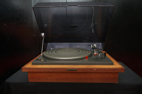 Pioneer PL-31D Vintage Manual Belt Drive Turntable Record Vinyl Player - 100V