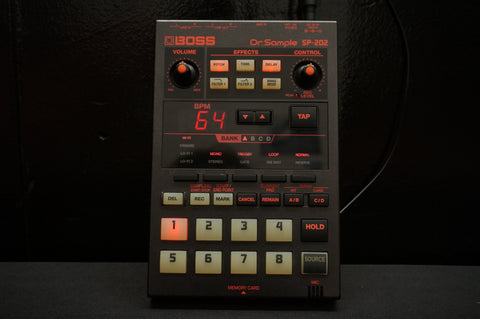 Roland Boss SP 202 Dr Sample Drum Machine Sampler Sequencer Lo-fi W/ FX SP202