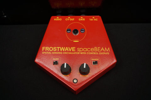 Frostwave spaceBEAM Spatial Sensing Oscillator With Control Outputs Theremin