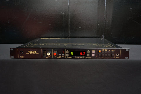 Yamaha D1500 Digital Delay 1U Rack Mount Effects FX w/ MIDI
