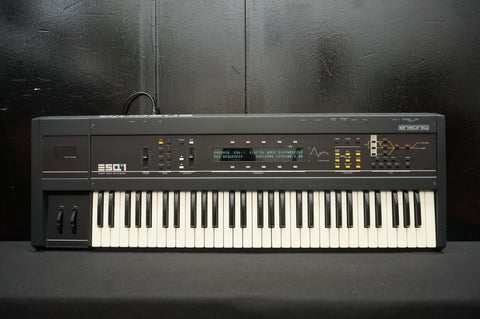 Ensoniq ESQ-1 Polyphonic Digital Wave Synthesiser W/ Analogue Filters - 120V