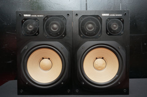 Yamaha NS-20M Rare 80's Hi-Fi Studio Monitor Speakers Matched Pair