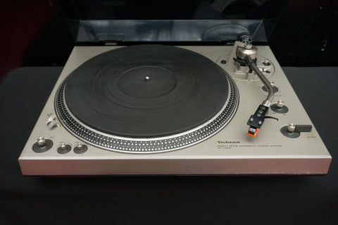 Technics SL-1300 Vintage Automatic Direct Drive Turntable System - 100V