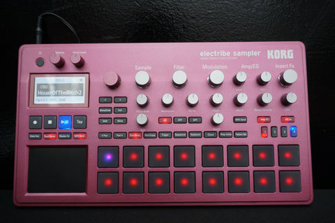 Korg Electribe 2 S Red - Sampler Music Production Station Sequencer In Box