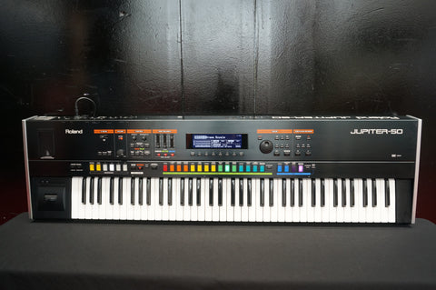 Roland Jupiter-50 76 Key Polyphonic Keyboard Synthesiser W/ Effects, MIDI & More