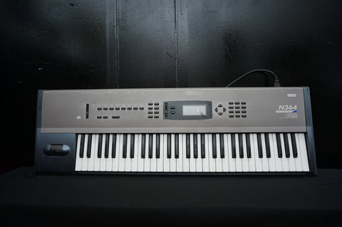Korg N364 Poly Music Workstation Synthesiser Sequencer *Broken Floppy Drive*