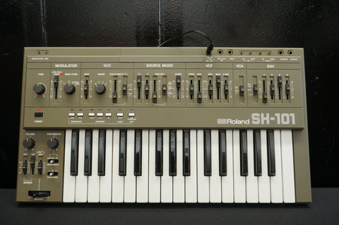 Roland SH-101 Vintage Monophonic Analogue Synthesiser Synth Serviced SH101