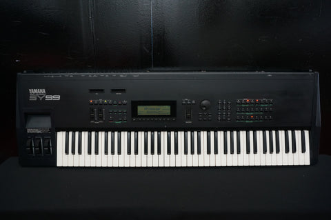 Yamaha SY99 Polyphonic 90's Digital Synthesiser Sequencer - 100V