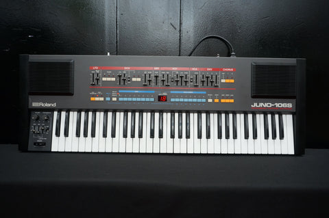 Roland Juno-106s / HS60 Polyphonic 80's Vintage Analogue Synthesiser - 240V