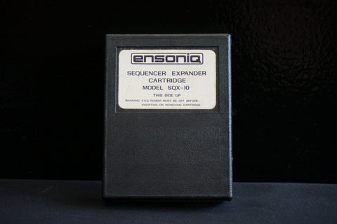 Ensoniq ESQ-1 SQX-10 Sequencer Expander Cartridge - 10,000 notes!