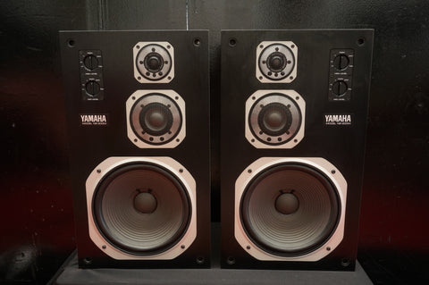 Yamaha NS-200M High Quality Hi-Fi Monitor Speaker System Matched Pair