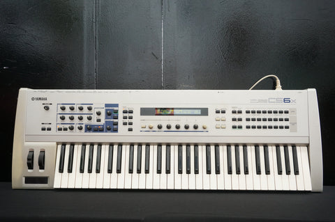Yamaha CS6X 90's Polyphonic Synthesiser & Sampler W/ MIDI & Effects - 100V