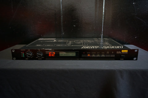 Korg DRV-2000 Vintage 80's Digital Reverb 1U Rack Effects Unit MIDI