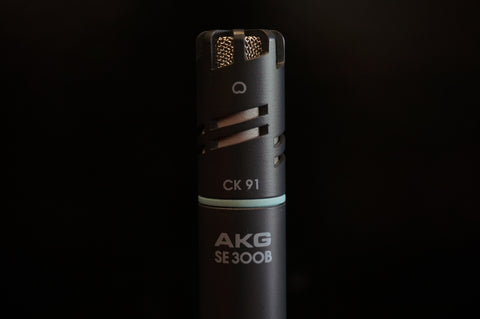 AKG C391 B (SE300/CK91) High-Performance Small-Diaphragm Condenser Microphone